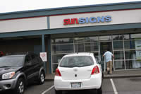 Sunsigns store/shop front in Tukwila, WA